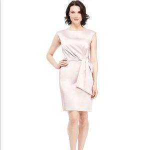 🌸 Marcela Sheath Silk Blush Dress 🌸